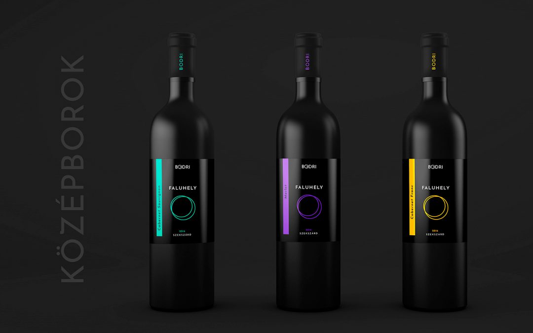 Logo and wine label design