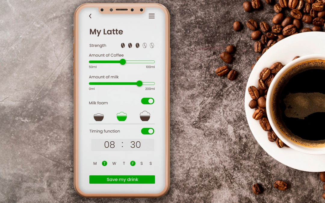 Calculator design for coffeemaker app – VIDEO