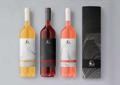 Logo design and branding for vinery