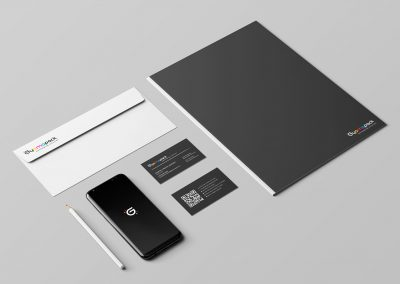 Gyomapack logo design and branding