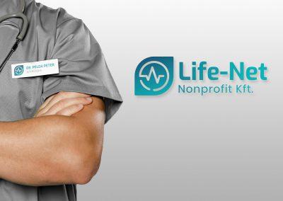 Life-Net logo design and branding