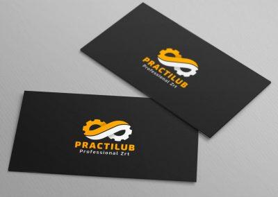 Practilub - logo design and branding