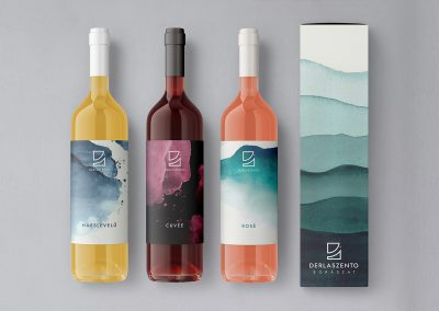 Logo design and branding for vinery