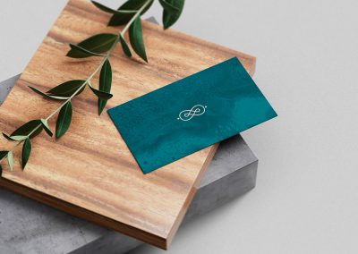 Konyssa enamel jewelry - logo design and branding