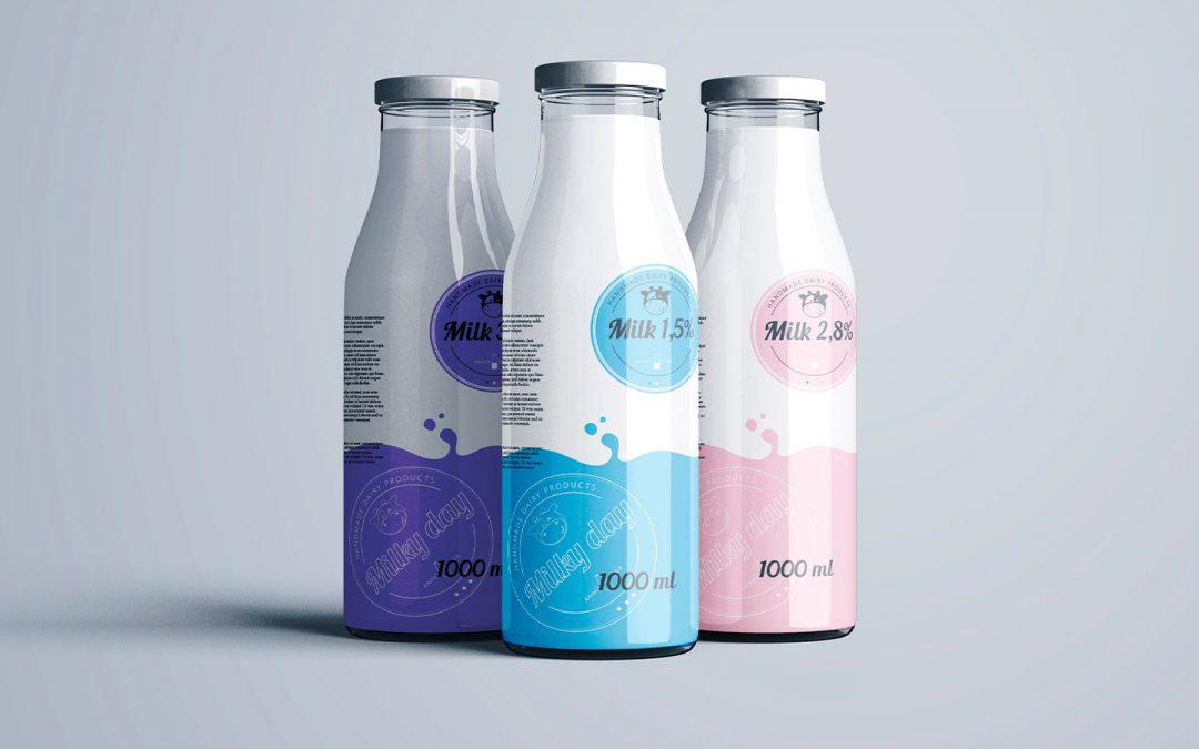 Milky – logodesign and branding