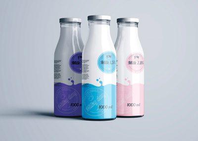 Milky - logo design and branding