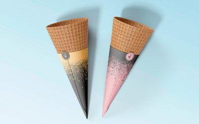 Snob Ice cream – logo design and branding
